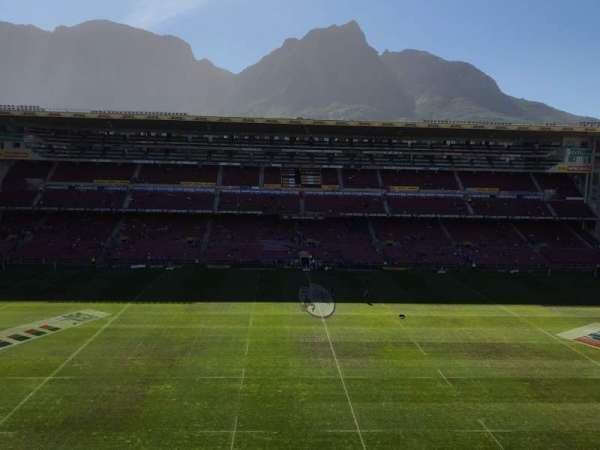 Newlands Rugby Stadium, section: Railway Stand Level 3 Block D, row: II, seat: 138
