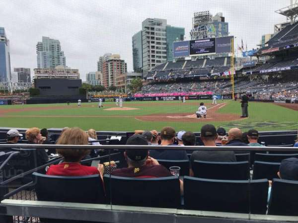 PETCO Park, section: 104, row: 8, seat: 6