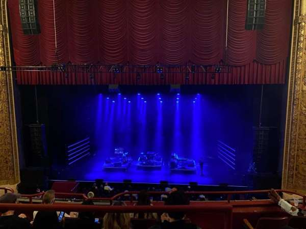Chicago Theatre, section: BALCony4, row: A, seat: 410