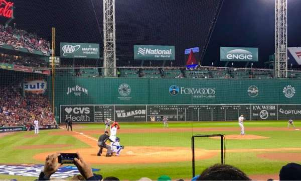 Fenway Park, section: Field Box 39, row: LL, seat: 6