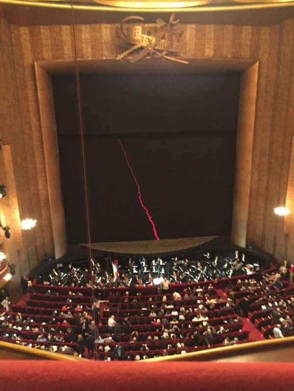 Metropolitan Opera House - Lincoln Center, section: Balcony, row: A, seat: 111