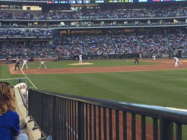 Citi Field, section: 106, row: 7, seat: 9