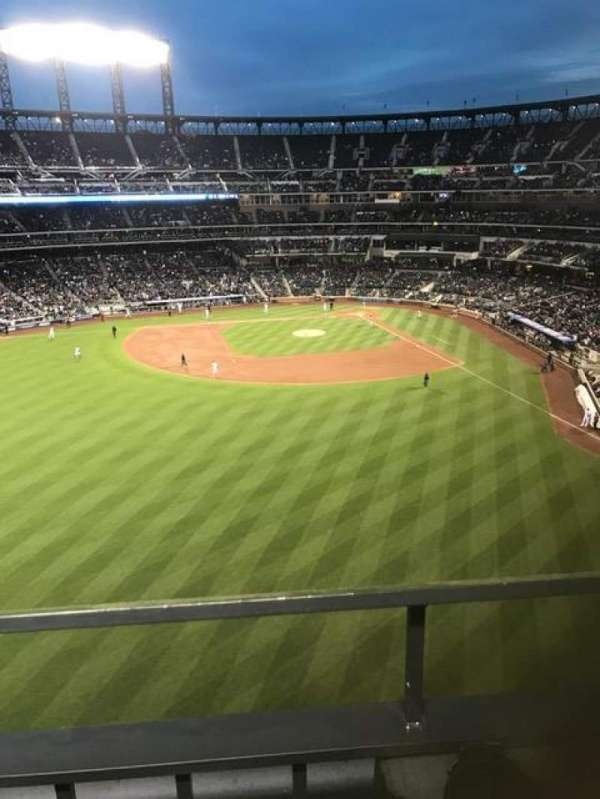 Citi Field, section: 534, row: 1, seat: 2