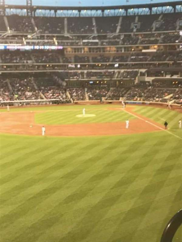 Citi Field, section: 335, row: 2, seat: 2