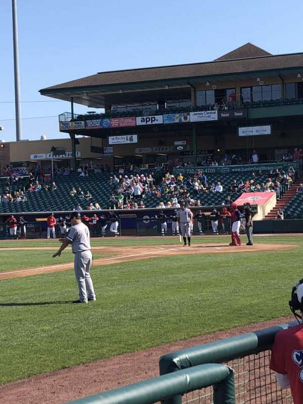 FirstEnergy Park, section: 113, row: 3, seat: 4