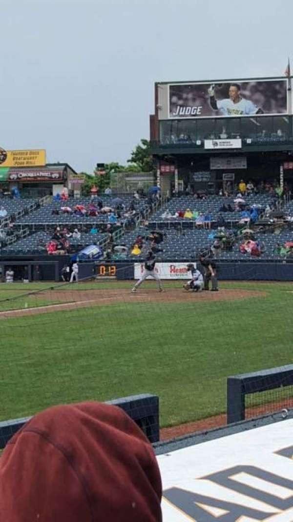 Arm & Hammer Park, section: 119, row: D, seat: 4