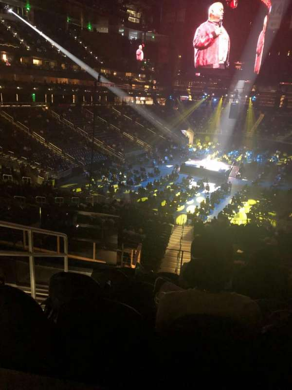 State Farm Arena, section: T3, row: F, seat: 17
