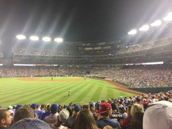 Nationals Park, section: 103, row: U, seat: 6-8