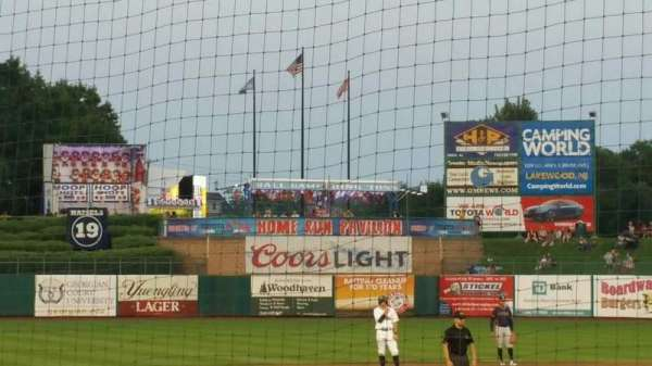 FirstEnergy Park, section: 110, row: 8, seat: 18
