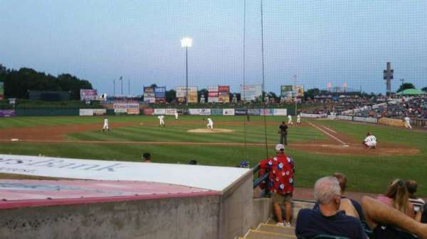 FirstEnergy Park, section: 110, row: 10, seat: 19