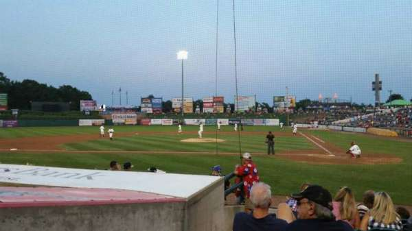 FirstEnergy Park, section: 110, row: 10, seat: 18