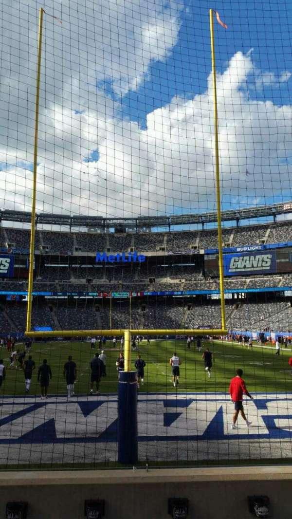 MetLife Stadium, section: 126, row: 4, seat: 12