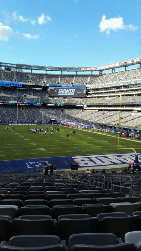 MetLife Stadium, section: 129, row: 31, seat: 5