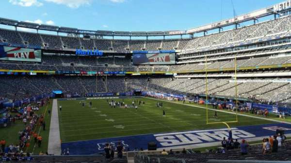 MetLife Stadium, section: 129, row: 31, seat: 1