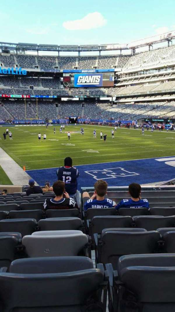 MetLife Stadium, section: 129, row: 15, seat: 17