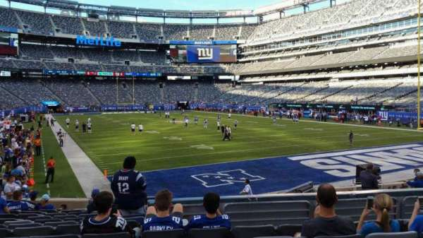 MetLife Stadium, section: 129, row: 15, seat: 16