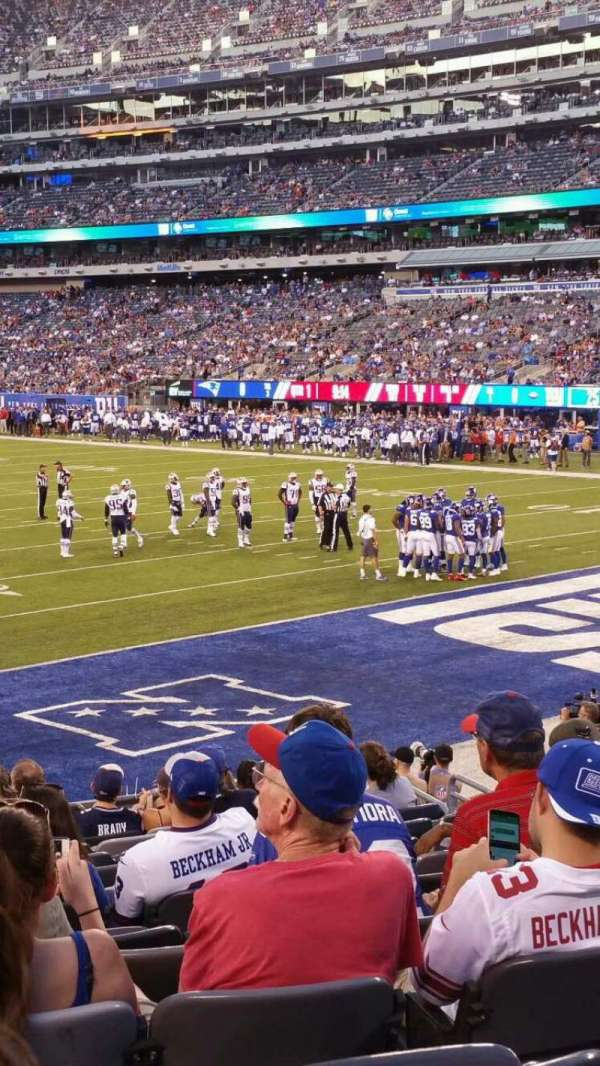 MetLife Stadium, section: 129, row: 15, seat: 25