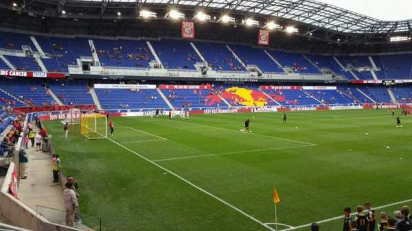 Red Bull Arena Section 114 Home Of New York Red Bulls