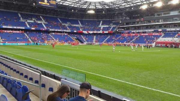 Red Bull Arena Section 124 Row 3 Home Of New York Red Bulls