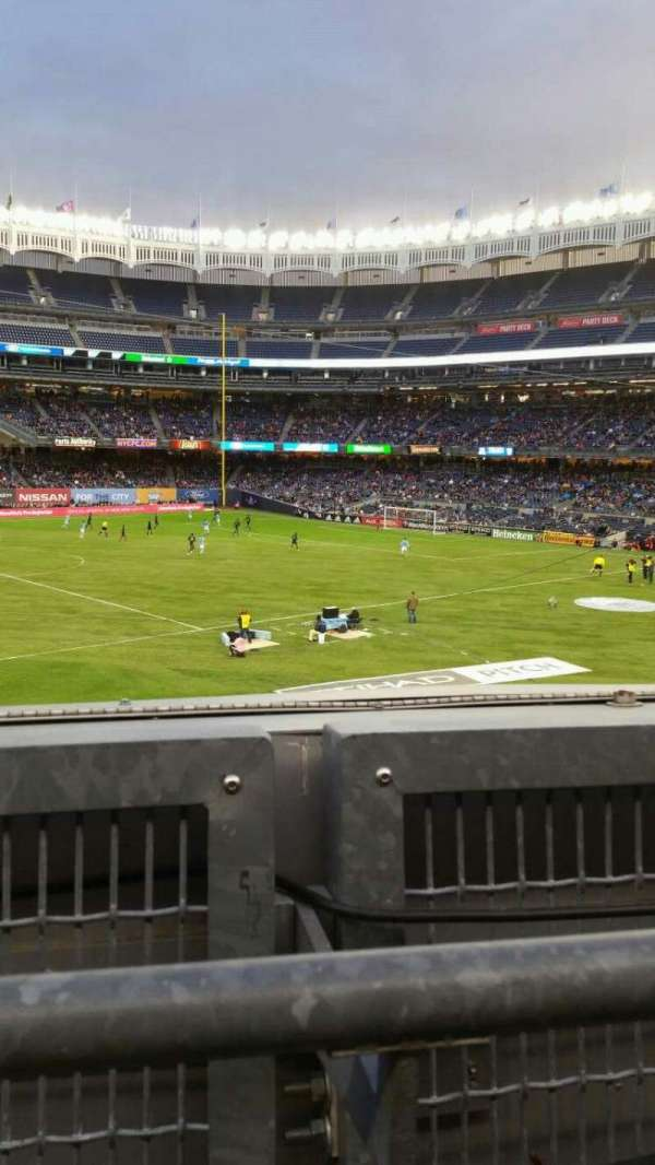 Yankee Stadium, section: 227B, row: 1, seat: 9