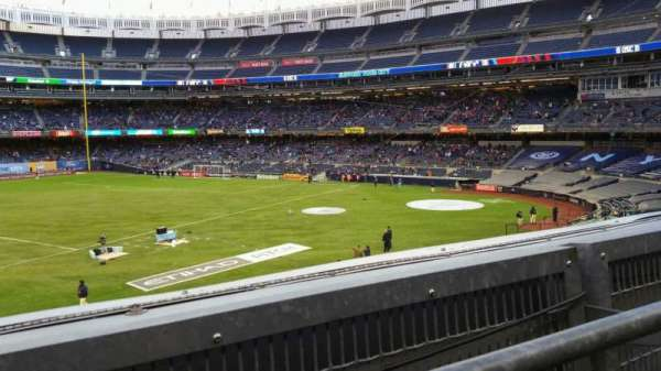 Yankee Stadium, section: 227B, row: 1, seat: 8