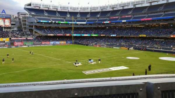 Yankee Stadium, section: 227B, row: 1, seat: 10