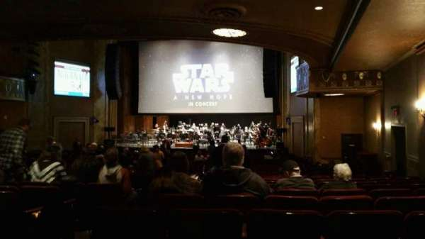 State Theatre New Jersey, section: Orchestra, row: AA, seat: 6