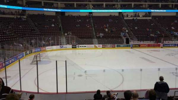 Giant Center, section: 105, row: L, seat: 9