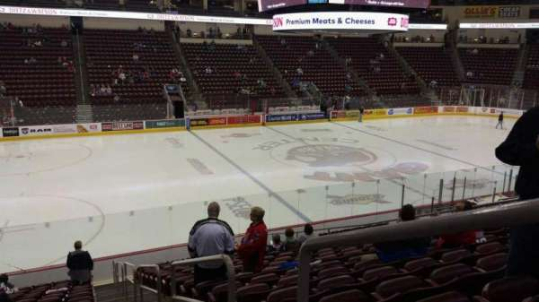 Giant Center, section: 105, row: S, seat: 1