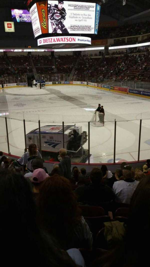 Giant Center, section: 125, row: M, seat: 6