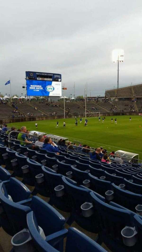 Rentschler Field, section: 101, row: 15, seat: 1