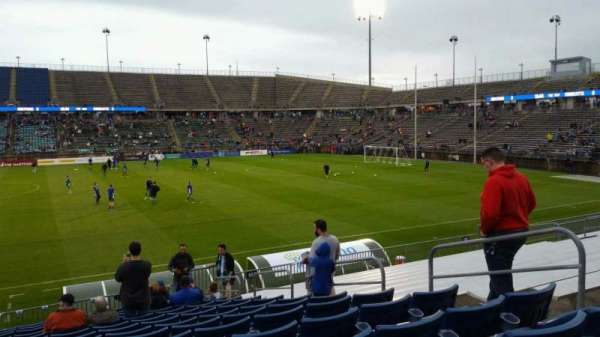 Rentschler Field, section: 101, row: 15, seat: 7