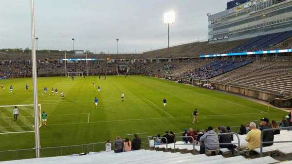 Rentschler Field, section: 132, row: 19, seat: 10