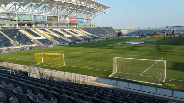 Talen Energy Stadium, section: 115, row: R, seat: 1