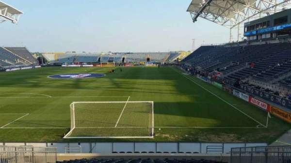 Talen Energy Stadium, section: 115, row: R, seat: 10