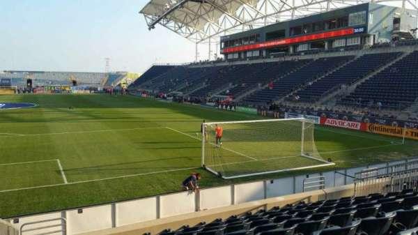 Talen Energy Stadium, section: 116, row: K, seat: 20