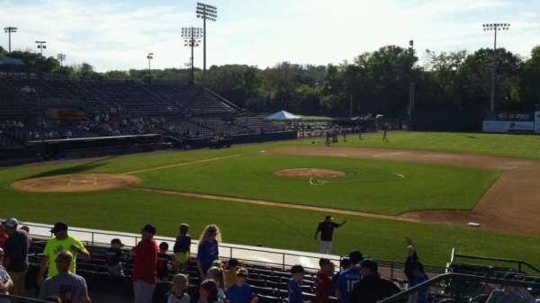 New Britain Stadium, section: 203, row: E, seat: 1