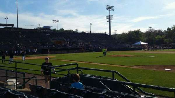New Britain Stadium, section: 103, row: E, seat: 7