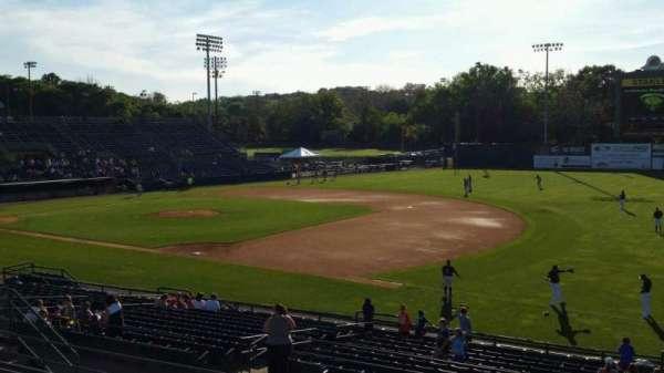 New Britain Stadium, section: 201, row: J, seat: 1