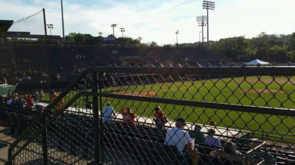 New Britain Stadium, section: 202, row: A, seat: 22