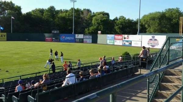 New Britain Stadium, section: 202, row: A, seat: 14