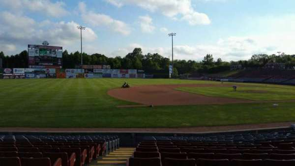 Dodd Stadium, section: 19, row: M, seat: 20