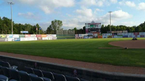 Dodd Stadium, section: 19, row: A, seat: 6