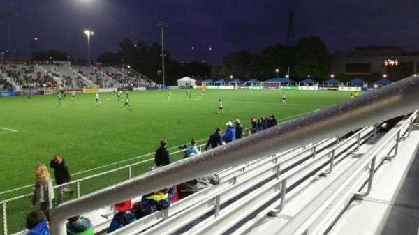 Dillon Stadium, section: 1, row: G, seat: 1