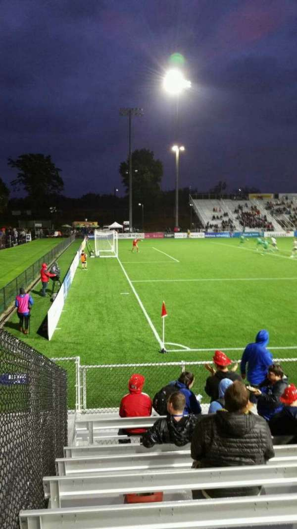 Dillon Stadium, section: 1, row: G, seat: 12