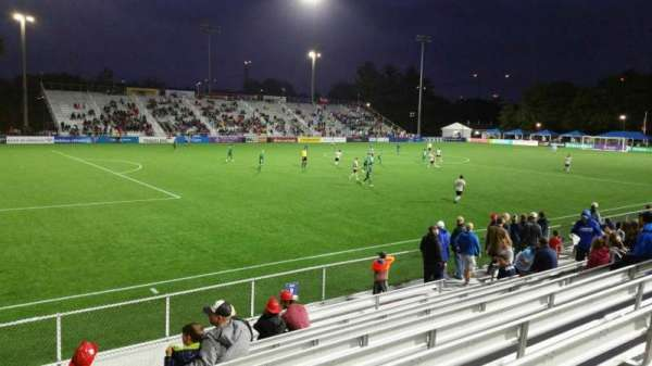 Dillon Stadium, section: 2, row: I, seat: 26