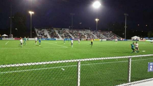 Dillon Stadium, section: 2, row: A, seat: 22
