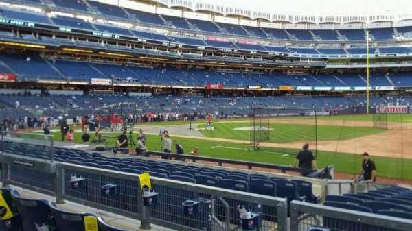 Yankee Stadium, section: 114B, row: 3, seat: 9