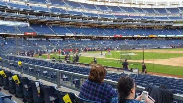 Yankee Stadium, section: 114B, row: 3, seat: 1