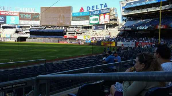 Yankee Stadium, section: 214, row: 3, seat: 1